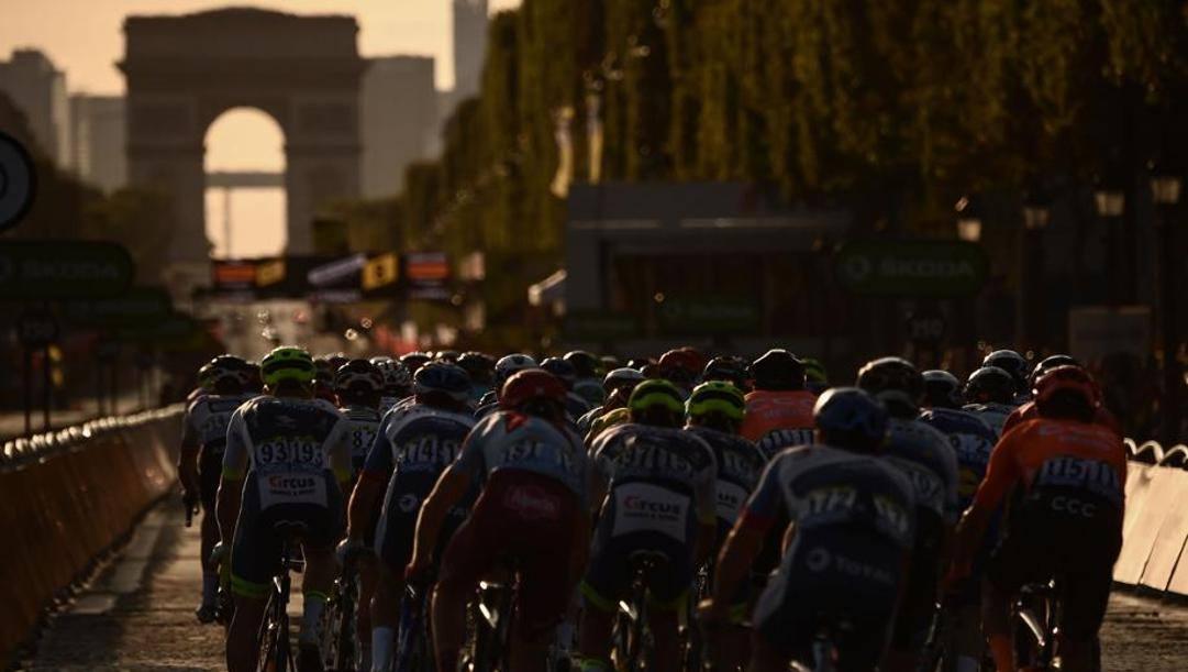 Una fase del Tour de France 2019. Afp